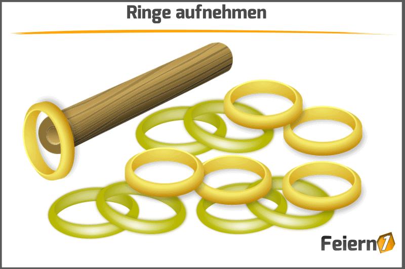 Ringe aufnehmen
