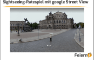 Sightseeing-Ratespiel mit google Street View