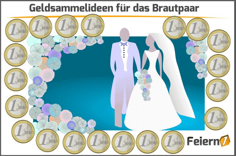 Geldsammelideen für das Brautpaar