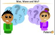 Was, Wann und Wo?