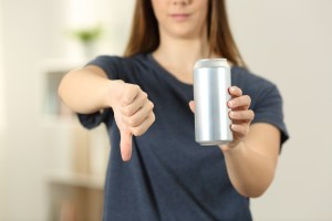 thumbs down for energy drink