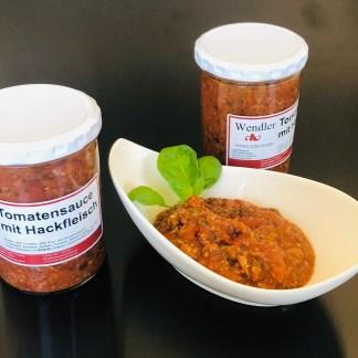 Tomatensauce mit Hackfleisch