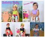 Vestido Infantil R$25 Belinha Baby