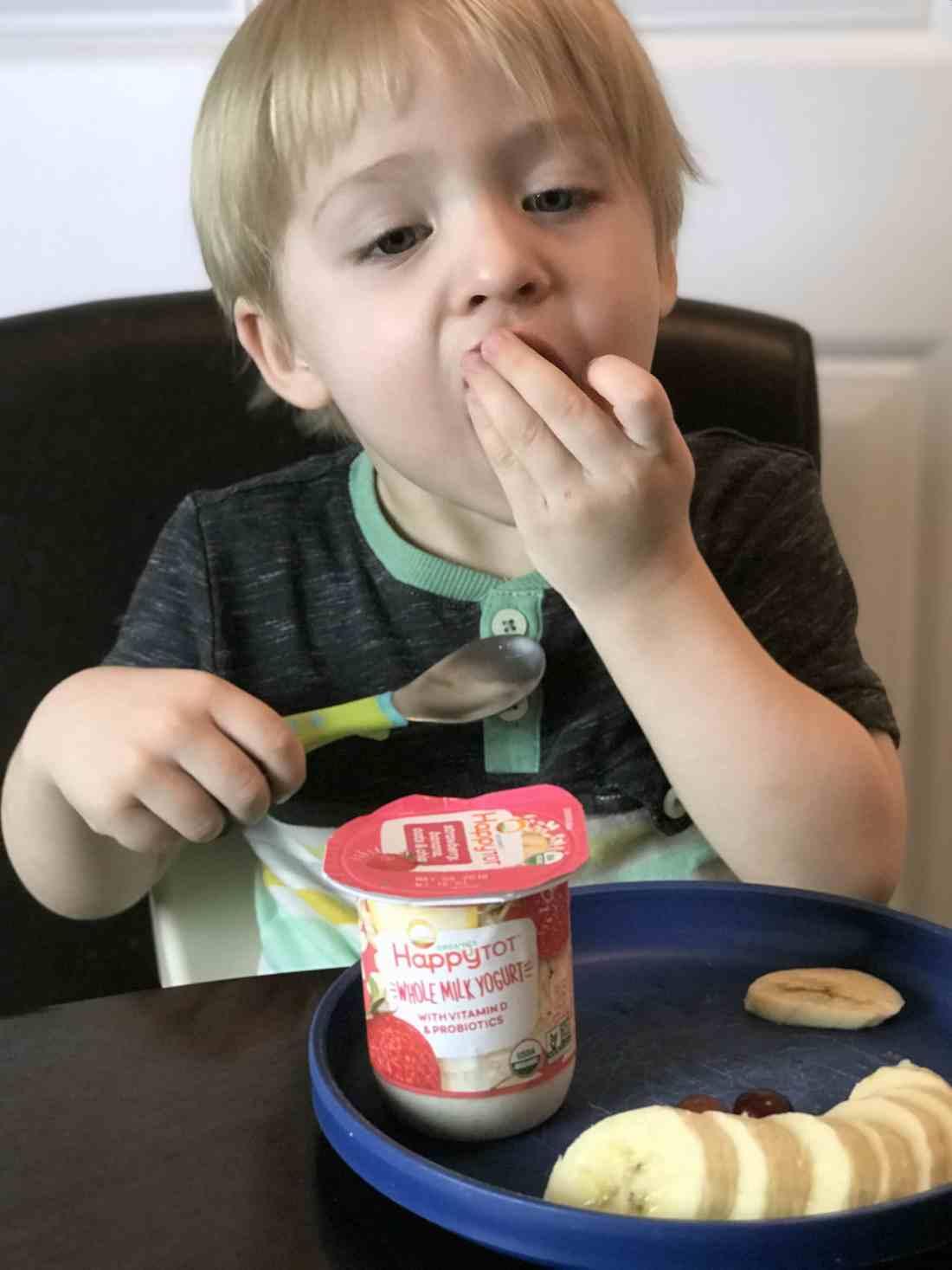 happy tot yogurt