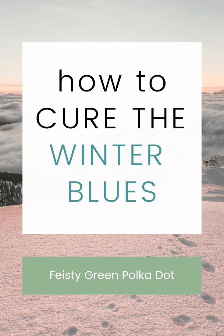 Does the winter weather make you feel sad? If so, you are not alone. Read these tips from a fellow SAD sufferer and learn how to cure the winter blues. #seasonaldepression #sad #seasonalaffectivedisorder #winterblues