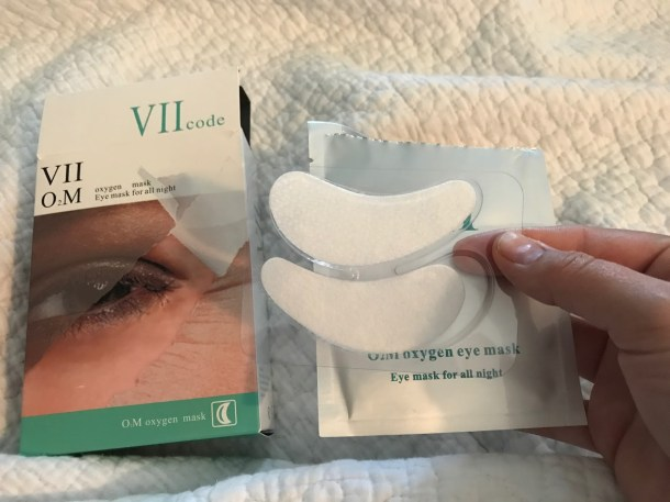 VII CODE Oxygen Eye Masks