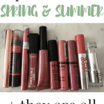 spring and summer lip colors