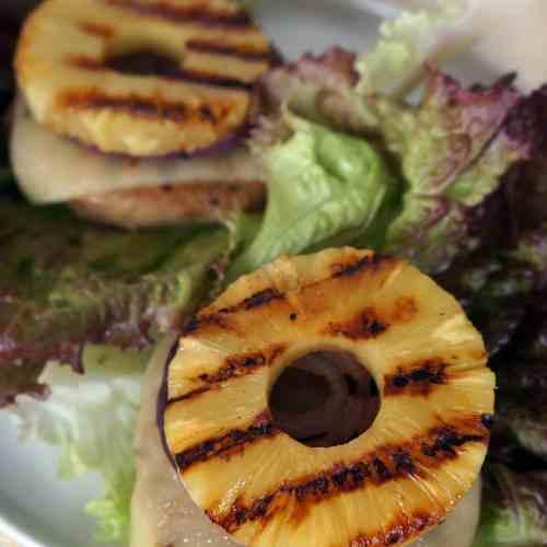 Hawaiian Teriyaki Turkey Burgers