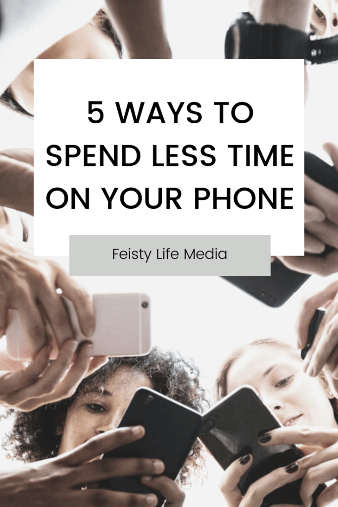 less time on phone