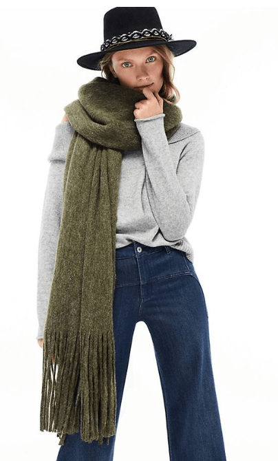 long scarf to keep you warm this winter