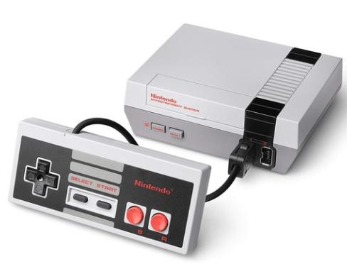 Old School Nintendo Console