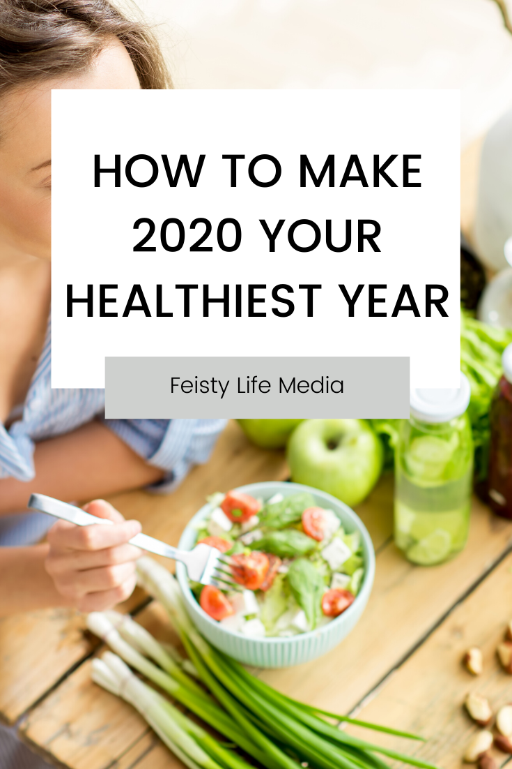 Have the healthiest year of your life by doing these ten things. healthy habits | self improvement | wellness | health