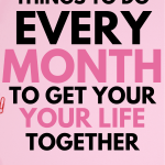 things to do every month
