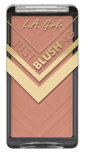 L.A Girl Just Blushing is an affordable blush to include in you drugstore makeup kit