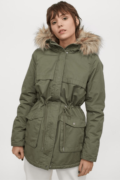 Look Cute In These 10 Coats and Jackets - Shearling Lined Parka