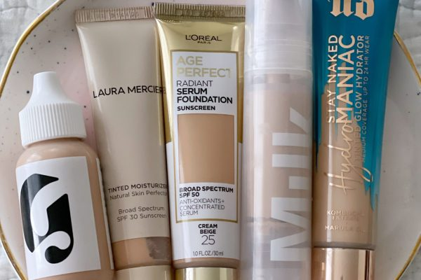 Skin Tints Lightweight Foundations