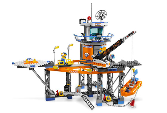 LEGO City 4210: Coast Guard Platform - View 4.jpeg