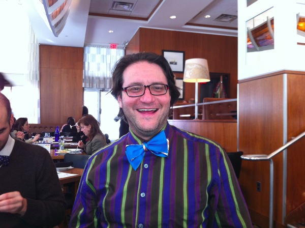 Brad and Blue Bow Tie