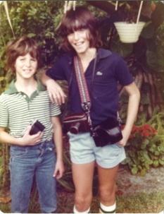 Young Brad and Dan