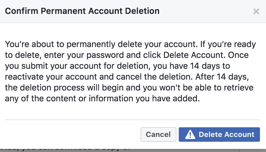 Deleting facebook feld thoughts deleting facebook ccuart Image collections
