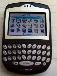 Blackberry primi modelli con schermo a colori