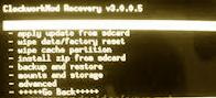 Clockworkmod Recovery 3