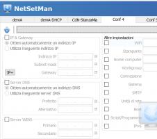 NetSetMan - Gestire più connessioni di rete