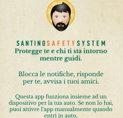 L'APP Santino Safety System