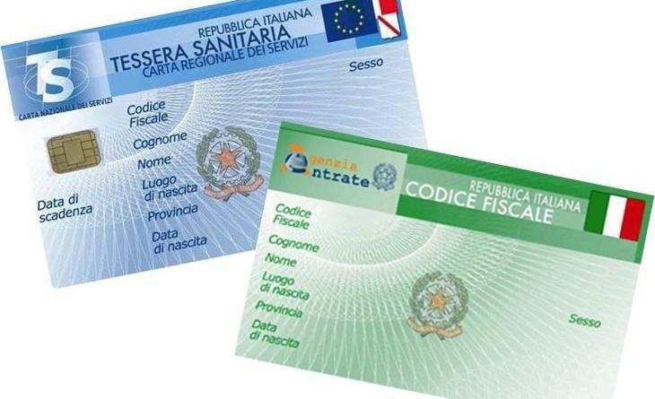 Codice Fiscale Italiano