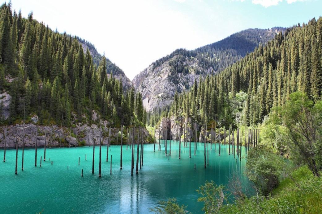 Lake Kaindy, Kazakhstan