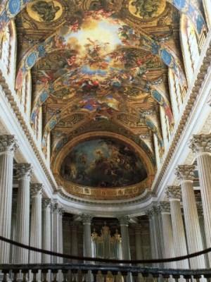 ヴェルサイユ宮殿2階アーチ天井