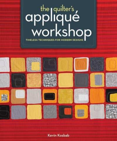 The Quilter's Applique Workshop - jacket art