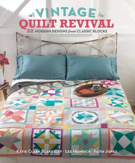 Vintage Quilt Revival - jacket art