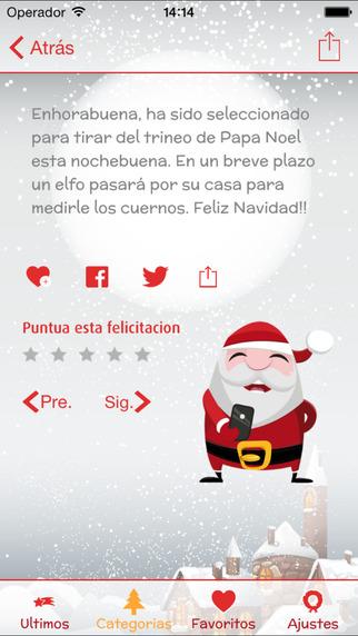 App iphone y ipad para enviar SMS de navidad