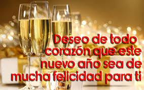 Deseo feliz año nuevo