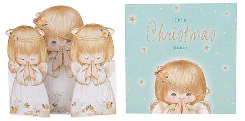 Pack felicitaciones de navidad religiosas con ángeles