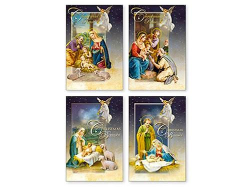 Tarjetas de navidad niño Jesús