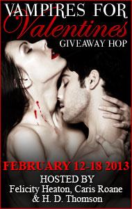 Vampires for Valentine's Giveaway Hop