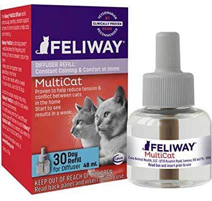 Feliway MultiCat 30-Day Diffuser Refill Image
