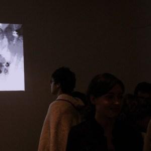 Intervention on the gallery's surveillance Camera