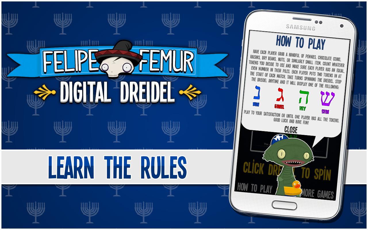 Digital Dreidel Felipe Femur