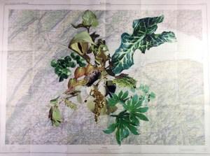 Hiraeth XI Medium: Mixed media on arches paper Size: 56 x 76,2 cm/22 x 30 inches Year: 2014