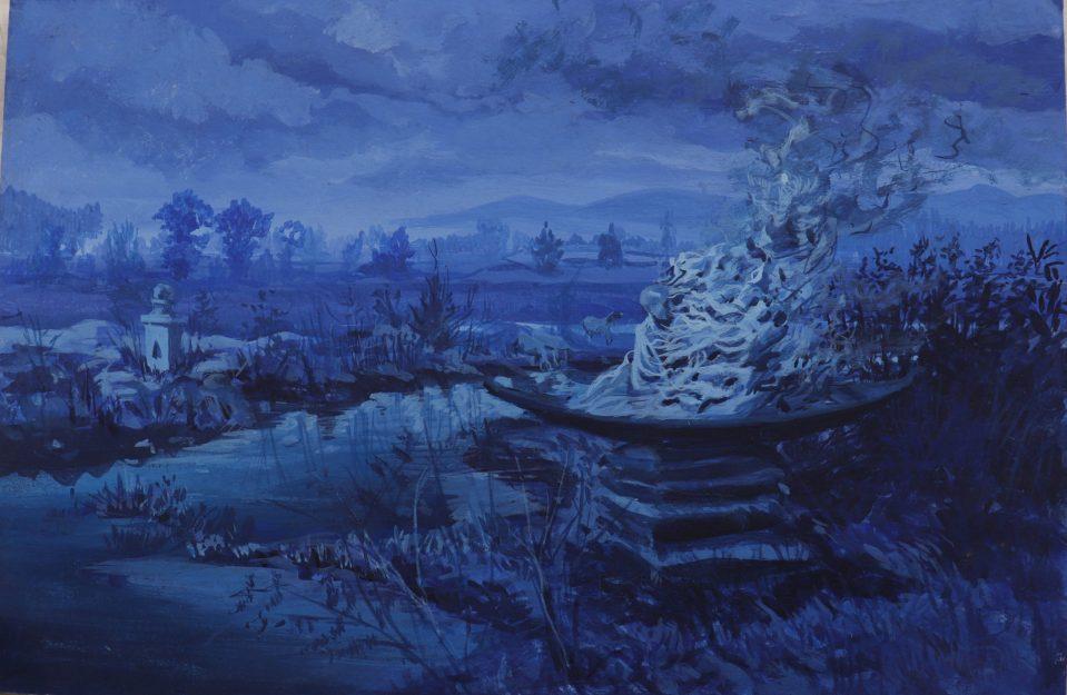 Timelandscape-Tempera-blue-1a