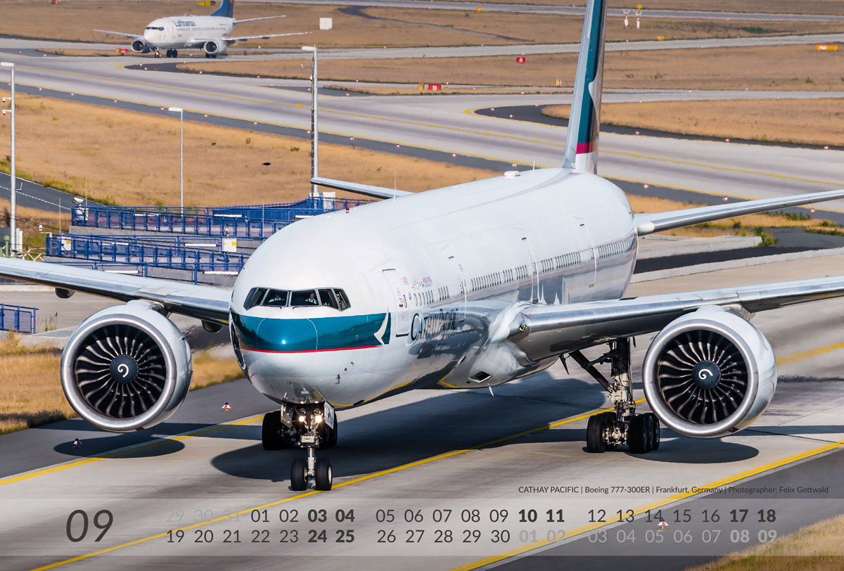 BOEING Aviation Calendar 2016 - 09