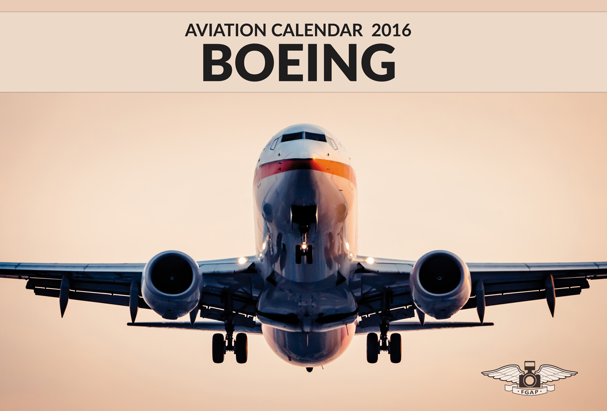 Cover image BOEING Aviation Calendar 2016