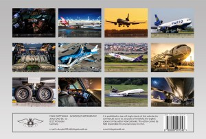 MD-11 Aviation Calendar 2016 - backside