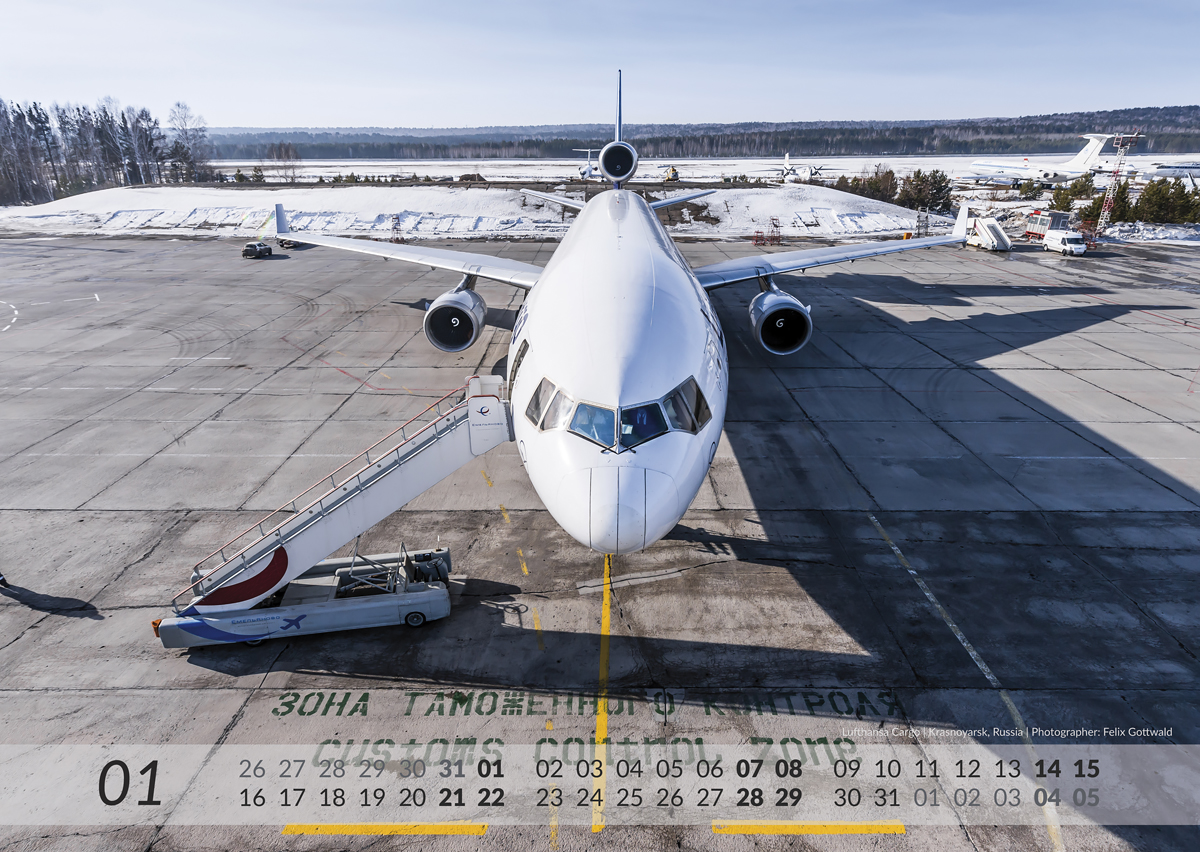 MD-11 Calendar 2017 January image