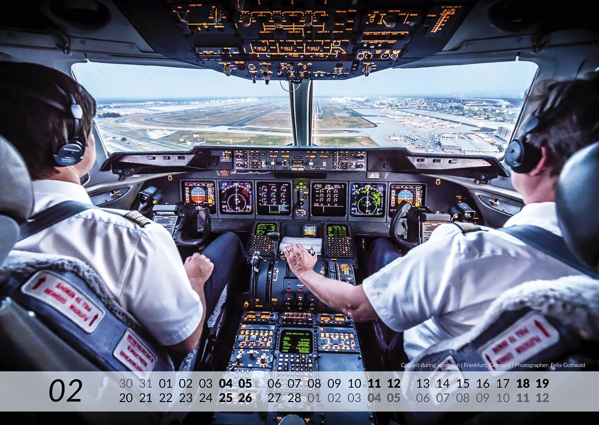 MD-11 Calendar 2017 February image