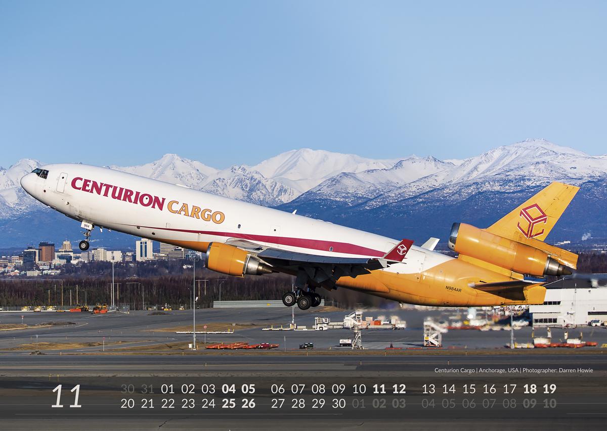 MD-11 Calendar 2017 November image
