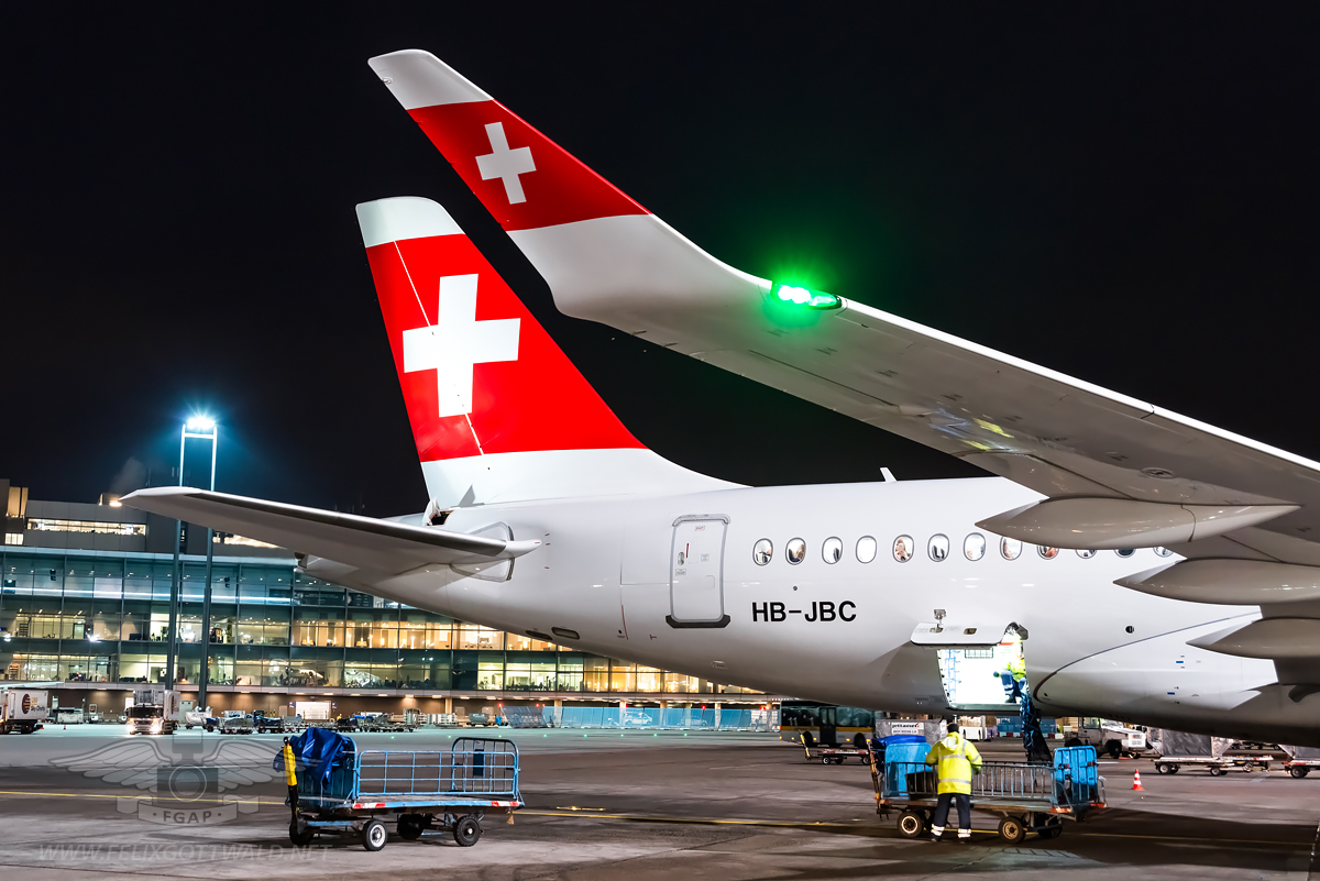 Swiss CS100 HB-JBC Frankfurt - 2017-01-03 08